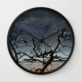 Cadaverous Tree Wall Clock
