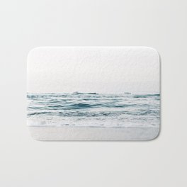 Ocean, waves Bath Mat