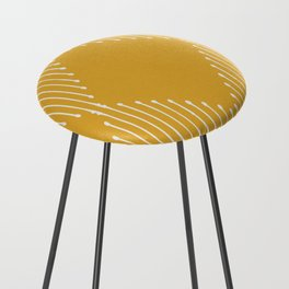 Geo / Yellow Counter Stool