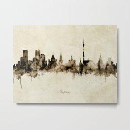 Moscow Russia Skyline Metal Print