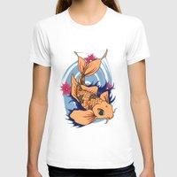 koi fish T-shirts featuring koi fish by Pinkspoisons