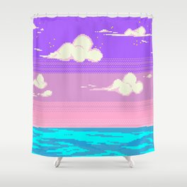 S k y Shower Curtain