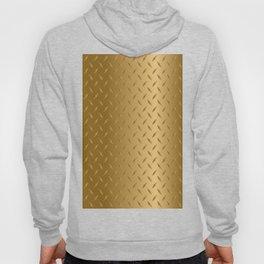 Gold Diamond Plate Hoody
