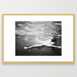 Float I Framed Art Print
