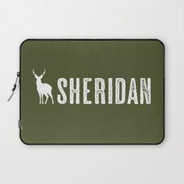 Deer: Sheridan, Wyoming Laptop Sleeve