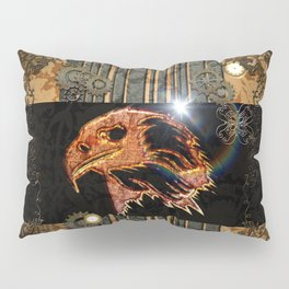 Steampunk,  with awesome eagle Pillow Sham