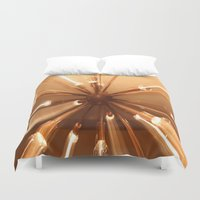 chandelier Duvet Covers featuring chandelier by Chris Cooch