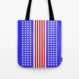 USA Flag Abstract Stars And Stripes Tote Bag