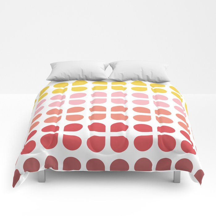 Floral Geometry Pattern Comforters