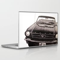 mustang Laptop & iPad Skins featuring Mustang by Lindsay Carter