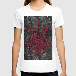 Sigil Lucifer, Satan and Clavicula Nox T-shirt