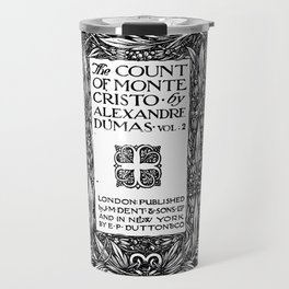 The Count of Monte Cristo Alexandre Dumas Title Page Travel Mug