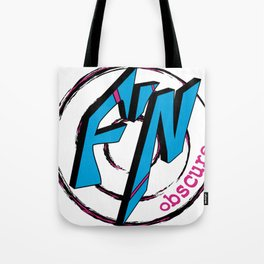 Fn Obscure Logo Tote Bag