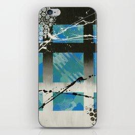 Blue Window iPhone Skin