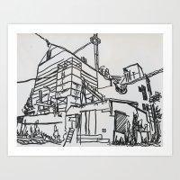 Building No. 10 Art Print