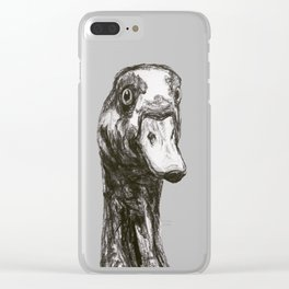 Egyptian Goose Clear iPhone Case