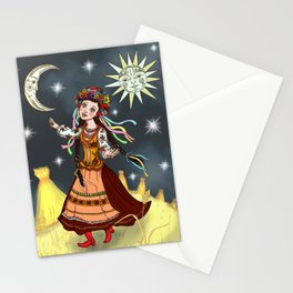 Slavic Rhapsody Stationery Cards