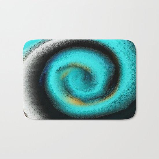 Pacific Glass Abstract Bath Mat