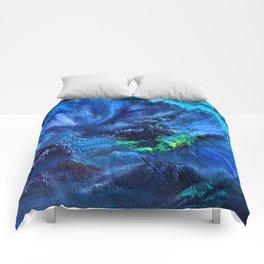 Blue Anemone Comforters