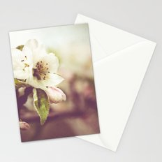 Lonely blossom Stationery Cards