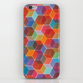 Hexagons iPhone Skin