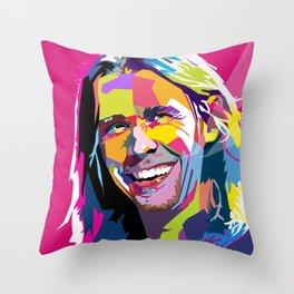 Myles Kennedy Smile WPAP Throw Pillow