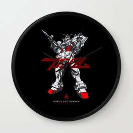 020 Gundam RX78 Wall Clock
