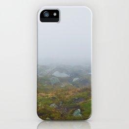 Gloomy landscape iPhone Case