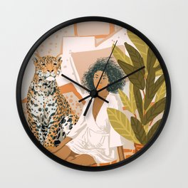 House Guest Wall Clock