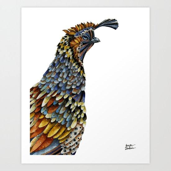Quail Kreios 3 Art Print