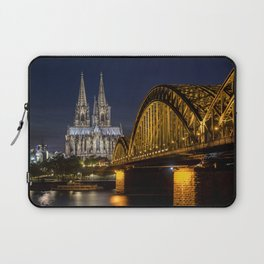 Cologne by night Laptop Sleeve