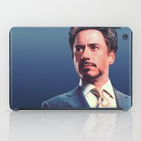 robert downey jr iPad Cases featuring R. Downey Jr. **** by Hands in the Sky