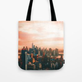 Sunset City (Color) Tote Bag