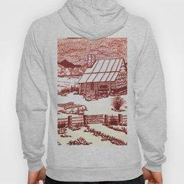 Mountain Cabin Rustic Hoody