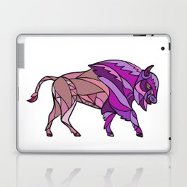 American Bison Side Mosaic Color Laptop & iPad Skin