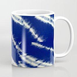 blue tie dye Coffee Mug
