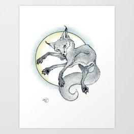 Ciseaux Art Print