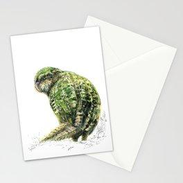 Mr Kākāpō Stationery Cards