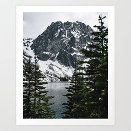 Dragontail Peak Art Print