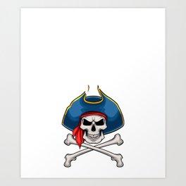 Pirate In Training Funny Bow Arrow Sport Hunter Art Print