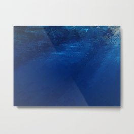 Submersible Metal Print