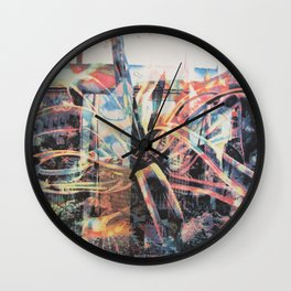 Ghost Cactus Wall Clock