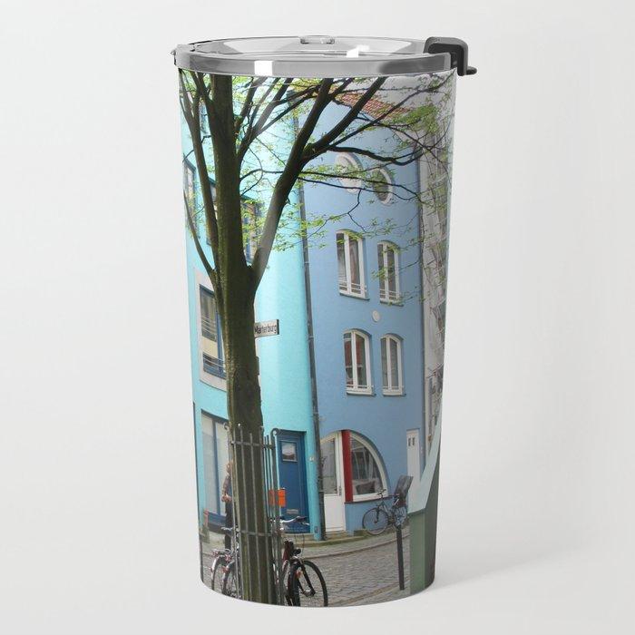 Schnoor Bremen. Travel Mug