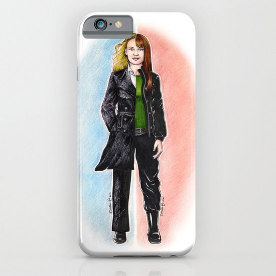 2 OLIVIAS DUNHAM (FRINGE) iPhone & iPod Case