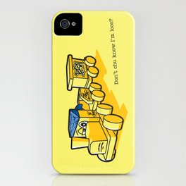 Don't chu know I'm loco? iPhone Case
