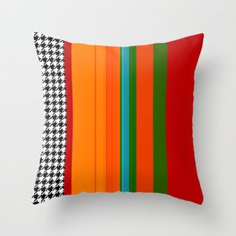 VIVID ART-DECO PATTERN Throw Pillow