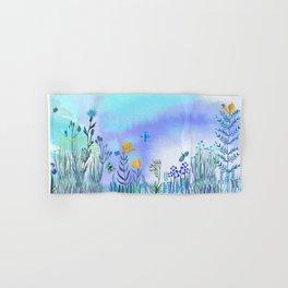 Blue Garden II Hand & Bath Towel
