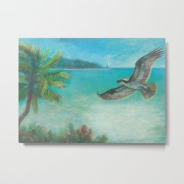Belle's Journey: Island Hopping Metal Print