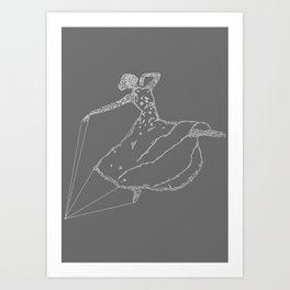 Dancer 2 Art Print