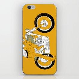 kick iPhone Skin